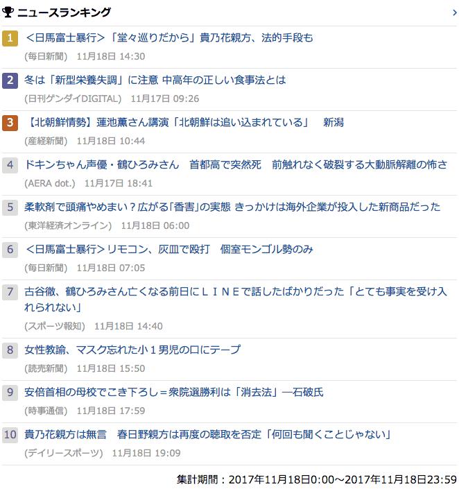2017-11-18_土_gooランキング