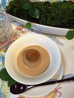 2017、紅茶プリン