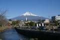 浅間大社富士宮本宮から見る富士山①