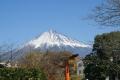 浅間大社富士宮本宮から見る富士山②