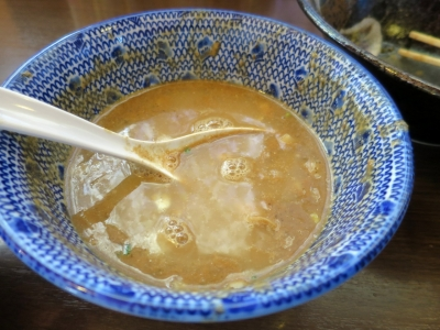 弥七スープ割