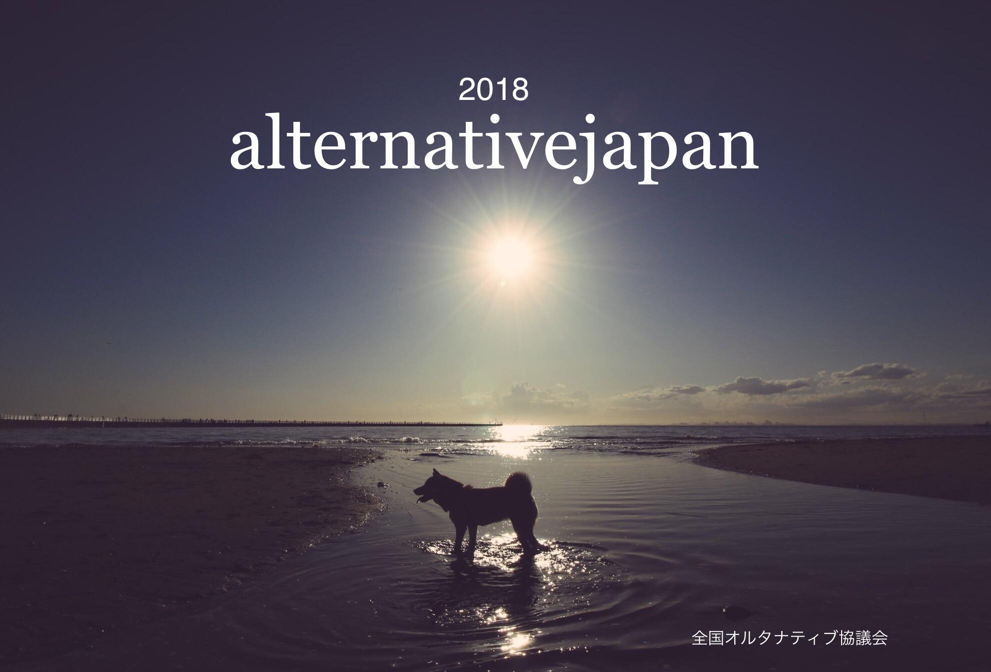 オルタナカレンダー2018、表紙