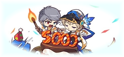 メイプルストーリー5000日①