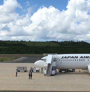 大阪行きの飛行機