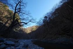 冷えた河原(20171209)