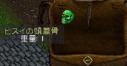 ヒスイの頭蓋骨