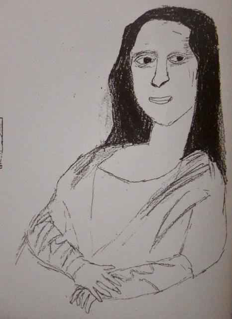 ベンシャーン・モナリザ