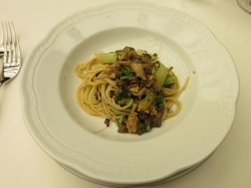 黒毛和牛のボロネーゼときのこのスパゲッティーニ