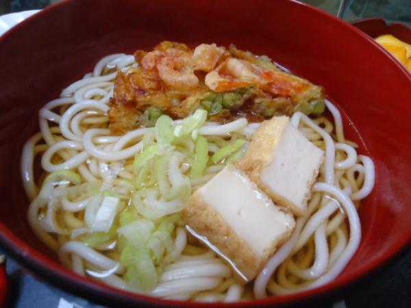 9/29 家食・天ぷら饂飩
