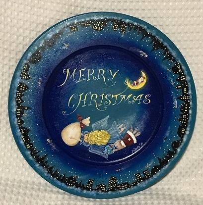 74クリスマスプレート