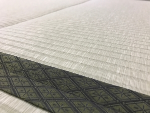 大広間の新しく張り替えた畳です♪