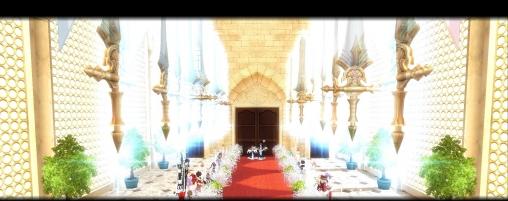 みしぇまるとアルティルナ結婚式1