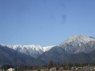 ブログ雪山