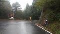 181020Cinelliで初めての花背峠は雨