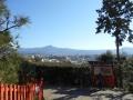 181028船岡山から東山方面を望む