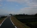 181027帰路の木津川はすっかり雨も上がった