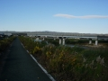 181208大和川を渡って富雄川沿いへ