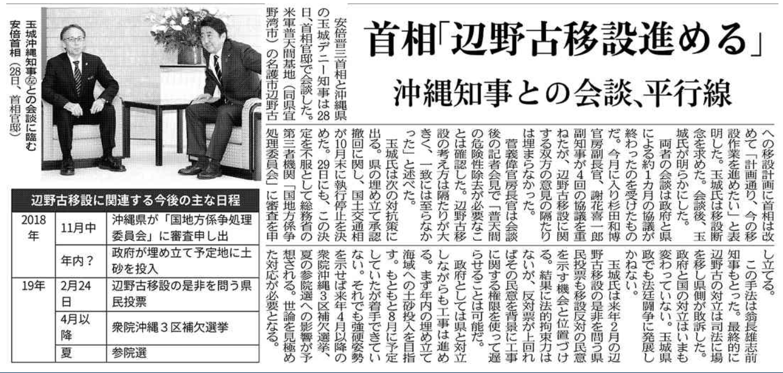20181129辺野古会談