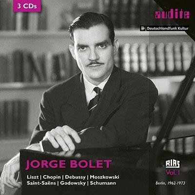 Jorge Bolet RIAS recordings Vol.1【最安値3CD】ホルヘ・ボレットRIAS放送スタジオ録音集