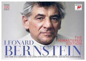 Leonard Bernstein The Remastered Edition【最安値100枚組CD】レナード・バーンスタイン リマスター・エディション