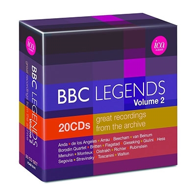 BBC Legends Vol.2 Great Recordings from the Archive【最安値20CD】BBCレジェンズBOX第2集 歴史的名演集