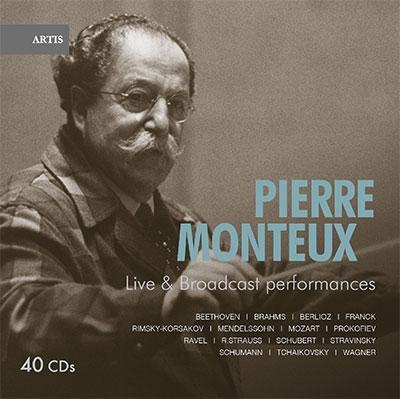 Pierre Monteux Live Broadcast Performances【最安値20CD】ピエール・モントゥーの芸術