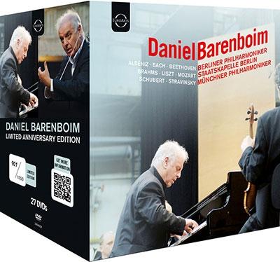 Daniel Barenboim Anniversary Edition【最安値27DVD】ダニエル・バレンボイム・アニバーサリー・エディション