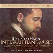 Alessandro Deljavan Reynaldo Hahn Integrale Piano Music【最安値4CDBOX】アレッサンドロ・デリャヴァン レイナルド・アーン ピアノ独奏曲全集