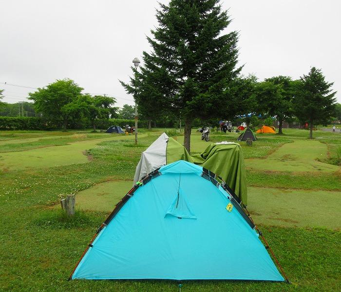 北海道 ツーリング スーパーカブの旅 24日目-1  別海町ふれあいキャンプ場~多和平~900草原