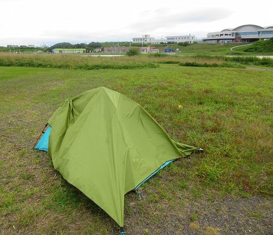 北海道 一周 スーパーカブの旅 29日目-1 鏡沼海浜公園キャンプ場~築別炭鉱跡