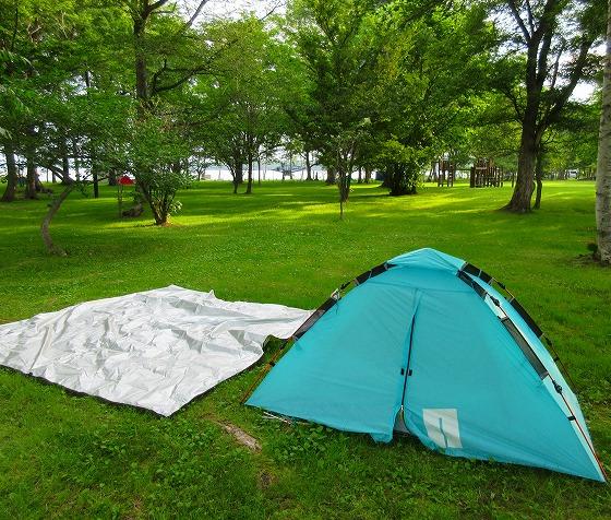 北海道 ツーリング スーパーカブの旅 25日目-1 女満別湖畔キャンプ場~佐呂間町