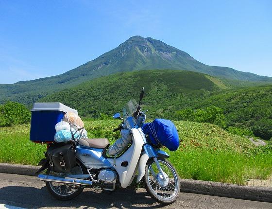 北海道 一周 スーパーカブの旅 18日目-2   知床横断道路