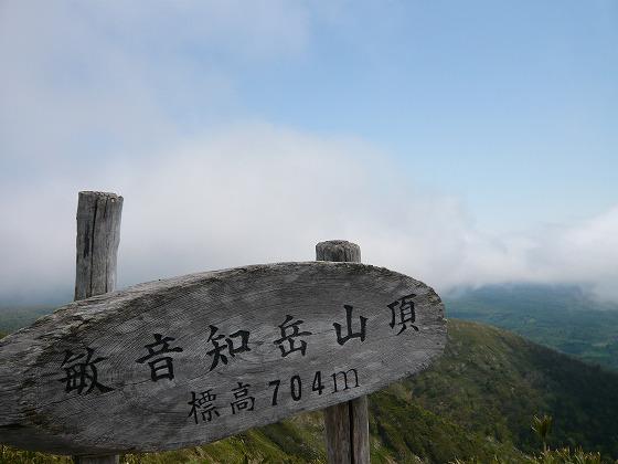 車中泊の旅 13日目-2 敏音知岳(ピンネシリ岳)~クローバーの丘