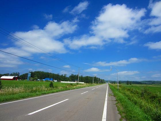 北海道 車中泊の旅 54日目-2 レンタルバイクツーリング 多和平~清里町