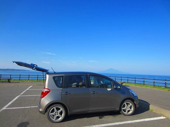 北海道 車中泊の旅 50日目-1 礼文島 レンタルバイクで島一周