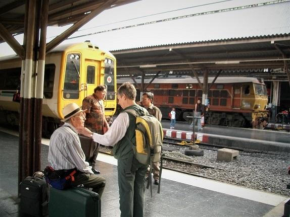 88 チェンマイ列車の旅 101