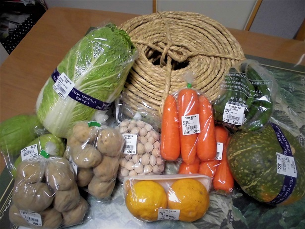 17.12.17 カインズホームで買った野菜 (4)