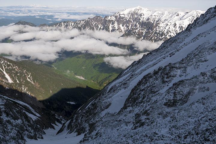 170603 新雪と新緑2