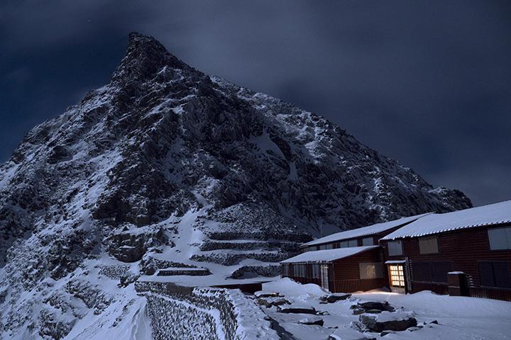 171104 月明かりの山荘