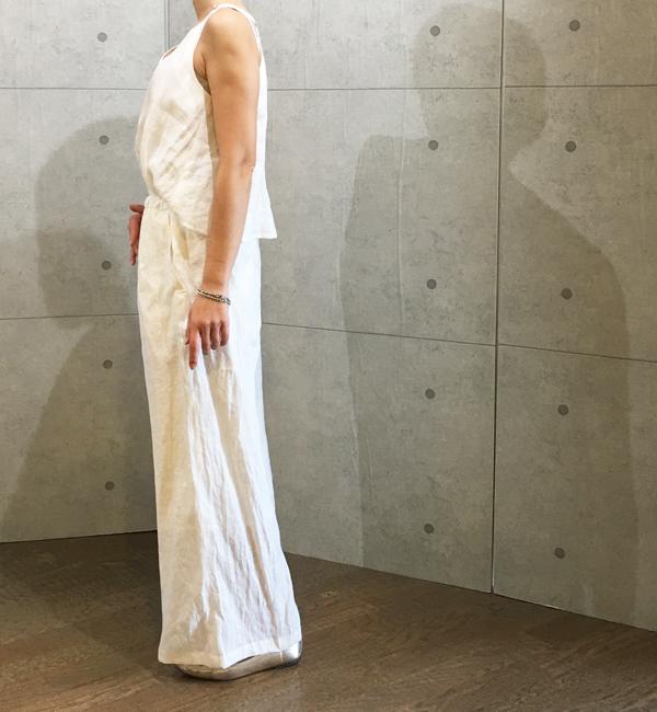 コユキの麻のジャンプスーツ