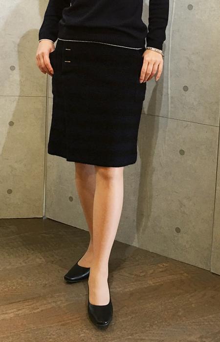 イリゼの巻きスカート風タイトスカート