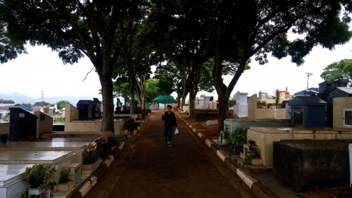 Lobyの墓参り