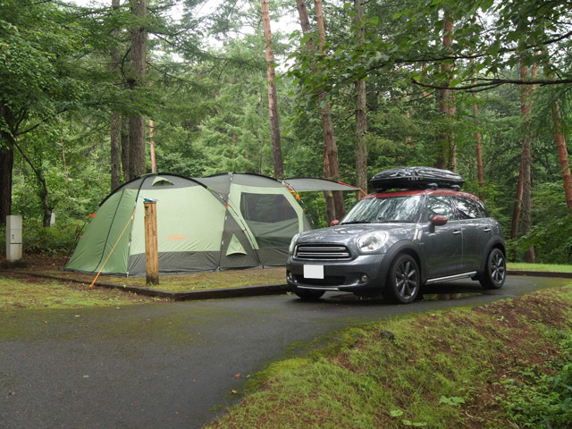 2回目のキャンプ2日目