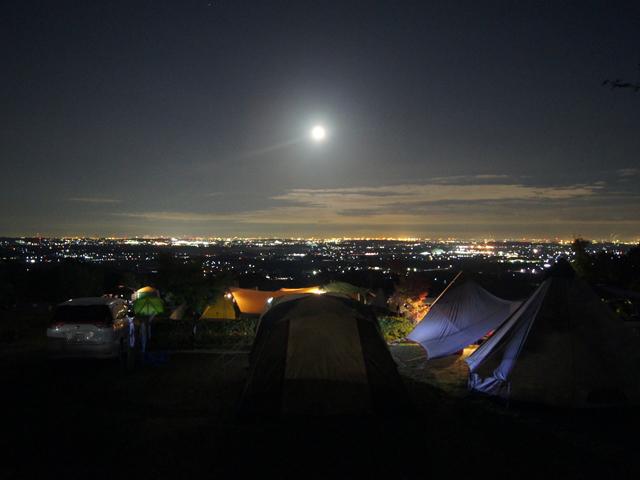 4回目のキャンプ_尾高キャンプ場1日目