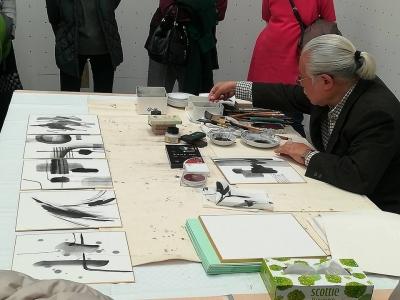 鈴木先生席画5