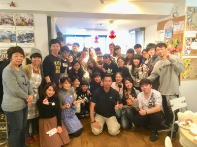 台湾の学生さんと