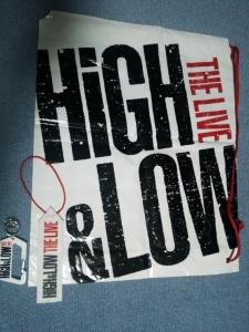 HIGH&LOW ライブグッズ