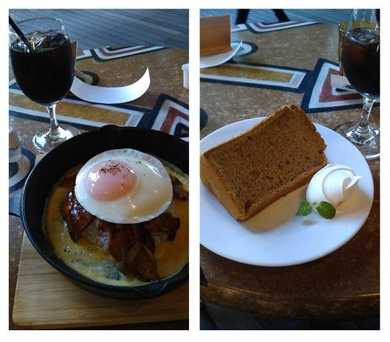 エッグポークライスと紅茶のシフォンケーキ  DSC_0021