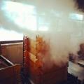 s-苗代屋の餅米蒸し