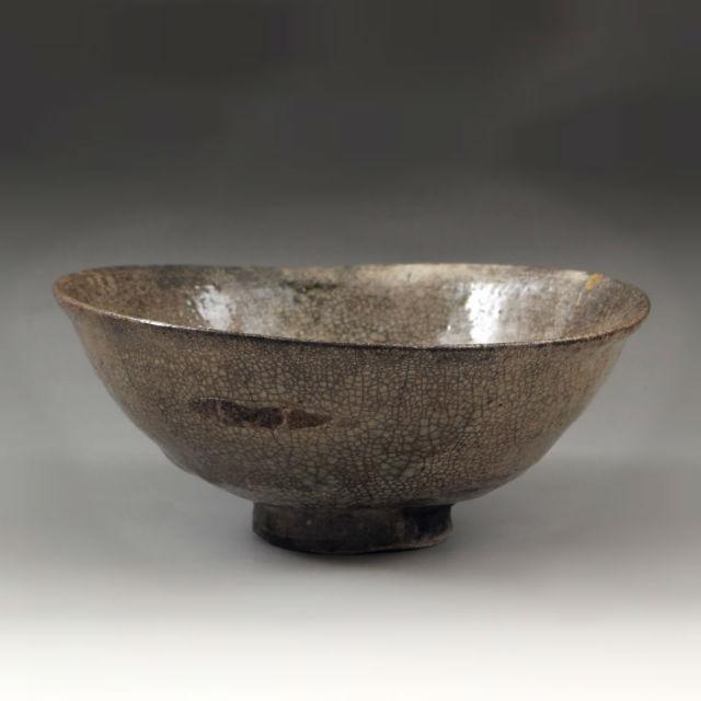 李朝井戸堅手茶碗